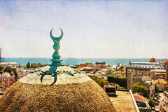 View of Constanta old town center Stock Images