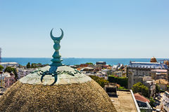 View of Constanta old town center Royalty Free Stock Photo