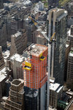 A view construction in Manhattan Royalty Free Stock Photo