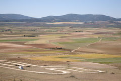 View from Consuegra; Toledo Royalty Free Stock Photography