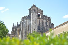 View of Convento de Cristo Stock Photo