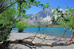 View of Convict Lake Royalty Free Stock Image