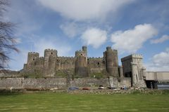 View of Conwy Castle Stock Photography