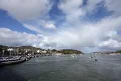 View of Conwy Castle Stock Images