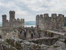 View on Conwy Castle, Wales Stock Photography