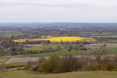 View from Coombe Hill, The Chilterns. Stock Photography