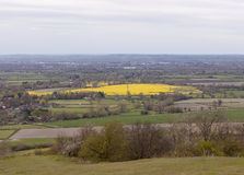 View from Coombe Hill, The Chilterns. Royalty Free Stock Photos