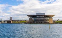 View of Copenhagen Opera House Royalty Free Stock Photo
