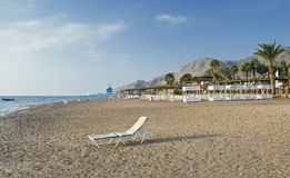 View on coral beach of Eilat, Israel Stock Photography