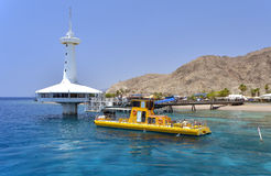 View on coral reef near Eilat, Israel Stock Photo