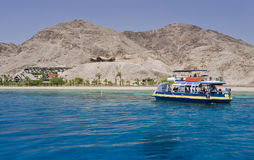 View on coral reef near Eilat, Israel Royalty Free Stock Image