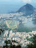 View from Corcovado mountain Royalty Free Stock Images