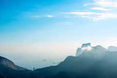 View from Corcovado Stock Photos