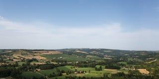 View from Cordes-sur-Ciel Stock Photos