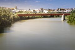 View of Cordoba during the afternoon stock image