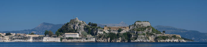 View on Corfu Greece Stock Photo