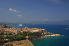 View on Corfu Greece Royalty Free Stock Image