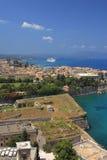 View on Corfu Greece Royalty Free Stock Photography