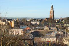 View of Cork city and Shandon church, Ireland Stock Images