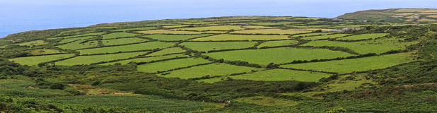 A view of cornwall countryside near Zennor, United Kingdom Royalty Free Stock Image