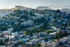 View from Corona Heights Park, in San Francisco  Stock Image