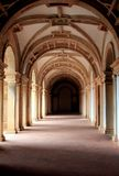 Convent of Christ. View of a corridor of the beautiful Convent of Christ in Tomar, Portugal Stock Photography