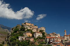 View of Corte, Corsica Royalty Free Stock Image