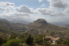 View from Cortijo Cabrera Royalty Free Stock Photo