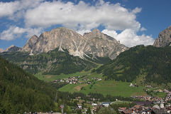 View from Corvara Royalty Free Stock Images