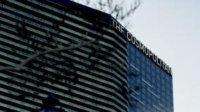 View on the Cosmopoltan casino stock video