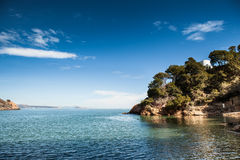 Costa Brava pathway Royalty Free Stock Photos