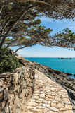 Costa Brava pathway Royalty Free Stock Photo