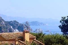 View of Costa Brava, Spain Royalty Free Stock Photo