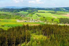 View of the countryside Royalty Free Stock Image