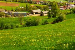 View of the countryside Stock Image
