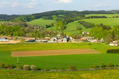 View of the countryside Stock Images