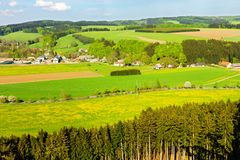 View of the countryside Stock Photography