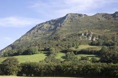 View of Countryside, Nueva. Austurias; Spain Stock Photos