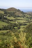View of Countryside, Nueva, Austurias. Spain Royalty Free Stock Photo