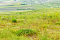 View of the Countryside from the Sancaklar Mosque Stock Photography
