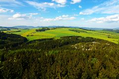 View of the countryside Royalty Free Stock Images
