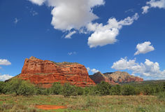 View at Courthouse Butte Royalty Free Stock Photos