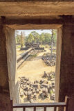 View of courtyard of Ba Phuon Temple, Angkor Thom, Siem Reap, Cambodia. royalty free stock photos