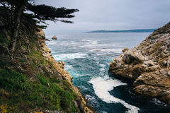 View of a cove at Point Lobos State Natural Reserve, in Carmel, Stock Photography