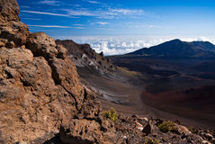 View Into the Crater Royalty Free Stock Image