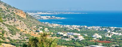 View of Crete, Greece Stock Images
