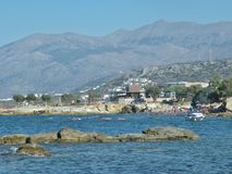 View of crete island,greece Stock Photos