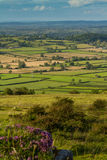 View from Crook Peak Somerset Royalty Free Stock Images