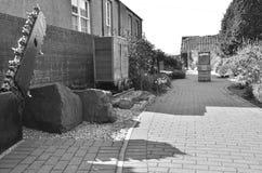 View of Crossgates Garden Stock Image