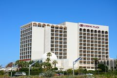 Crowne Plaza Hotel, Vilamoura. View of the Crowne Plaza hotel, Vilamoura, Algarve, Portugal, Europe Stock Image